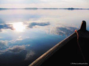 Soutuhetki 2 Karjalan Pyhäjärvellä. Kuva Riikka Loukkaanhuhta