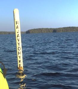 Karjalan Pyhäjärven rajavyöhyke. Kuva Ulla Rauramo